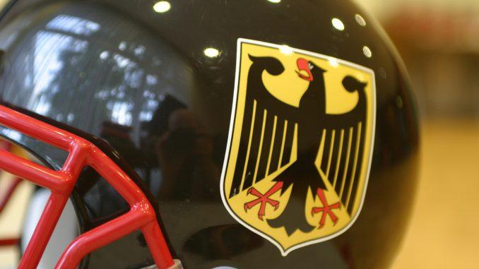 Helm der Nationalmannschaft